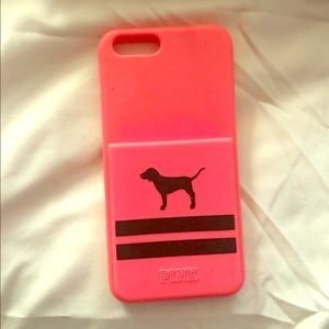 VS Pink iPhone 8 case silicone